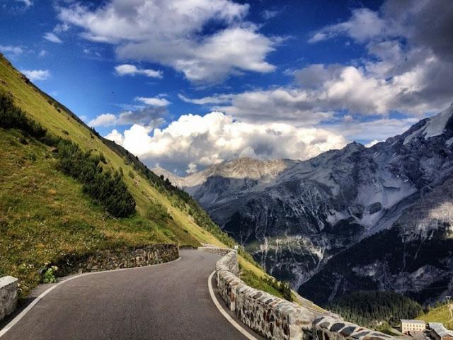 Pass Stelvio, Italia