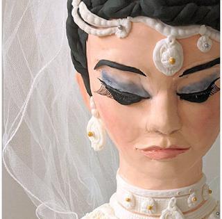 Mariée Sri Lankaise occidentalisée - Sharon's Creative Explosion Cakes