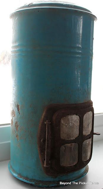 Vintage Enamel Burner