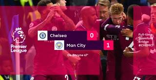 Chelsea Kalah 0-1 dari Manchester City di Stamford Bridge
