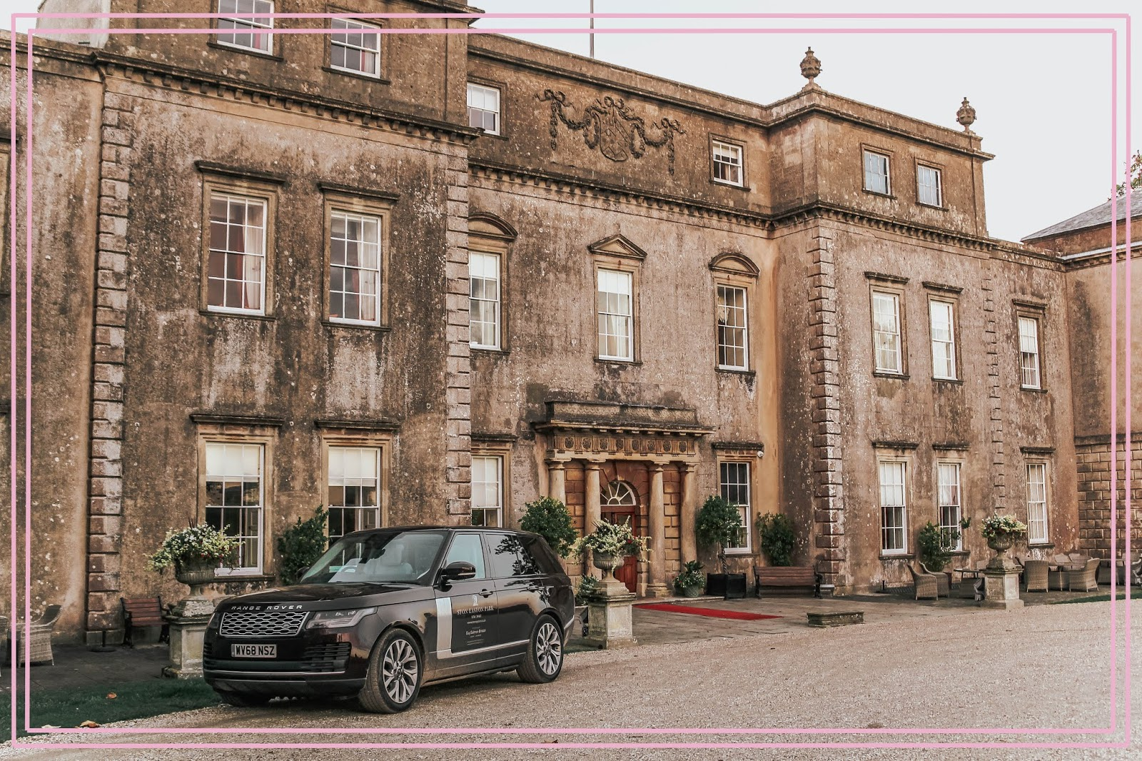 Ston Easton Park Hotel Branded Black Range Rover