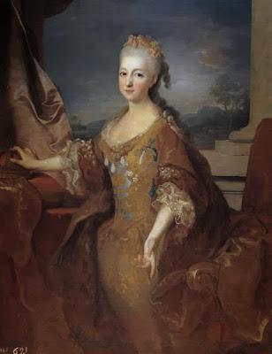 Louise Élisabeth d'Orléans by Jean Ranc, 1724