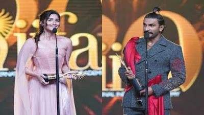 IIFA Awards 2019 winners list Alia Bhatt, Ranveer Singh win honors