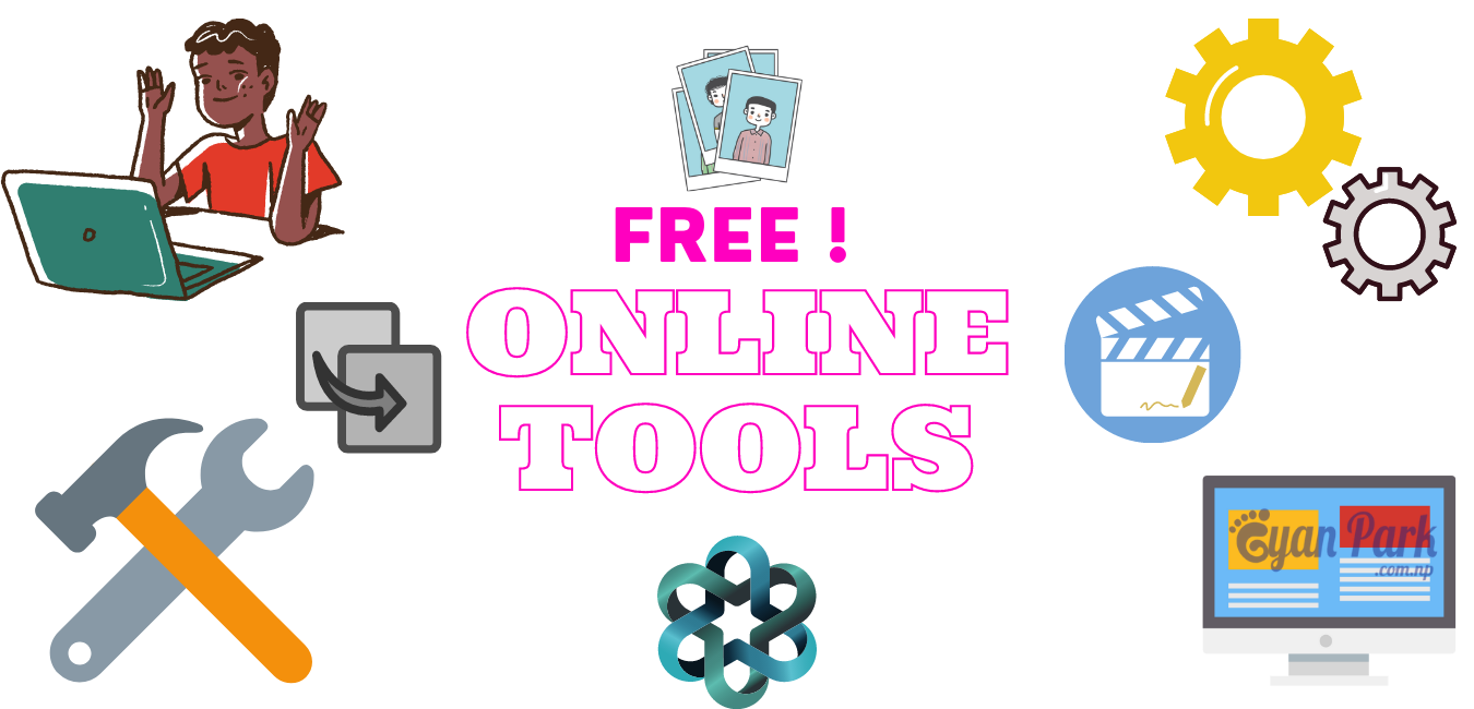 Free Useful Online Tools which make your Online Works easier and faster.