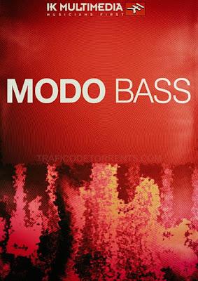 Cover MODO BASS - IK Multimedia