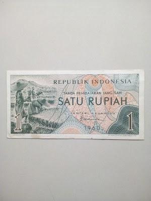 1 rupiah tahun 1960