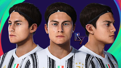 PES 2021 Faces Paulo Dybala by LR7