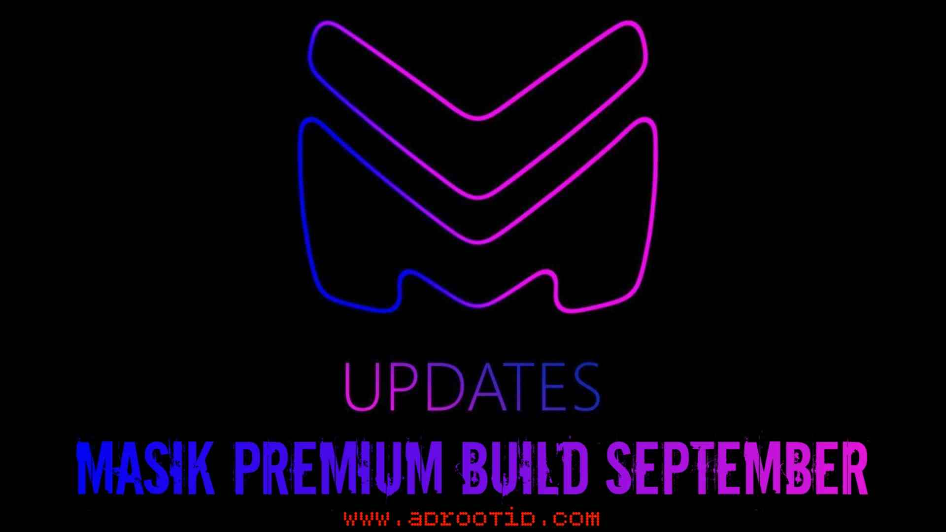 Masik Premium September Build For Max Pro M1 | X00TD