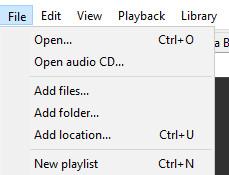 Membuat Playlist Di Aplikasi Foobar2000