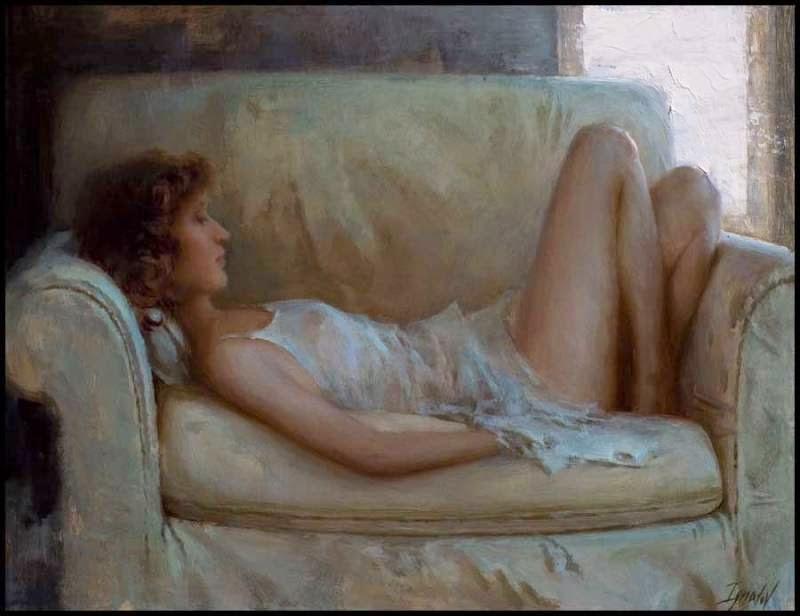 Figura Reclinada - Ignat Ignatov e suas mais belas pinturas  ~ Pintora russa