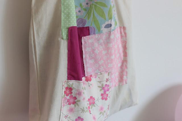 personnaliser tote bag chutes tissu