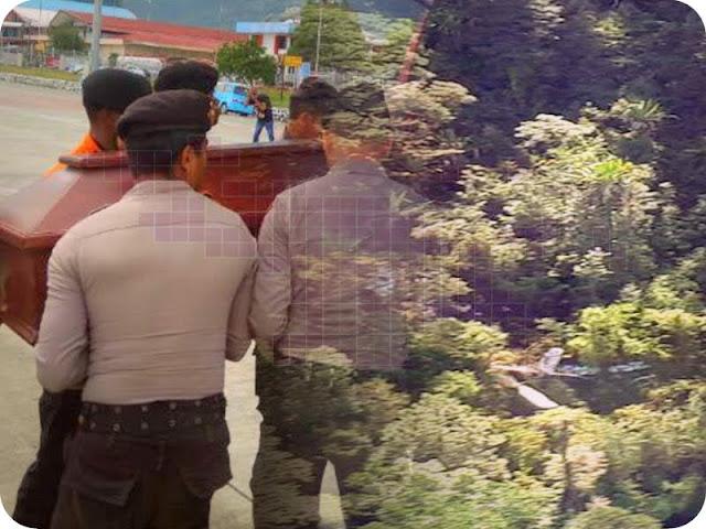 Jenazah Pilot Caravan Naas di Bukit Anem, Kompol Rio Pasaribu Tiba di Jayapura