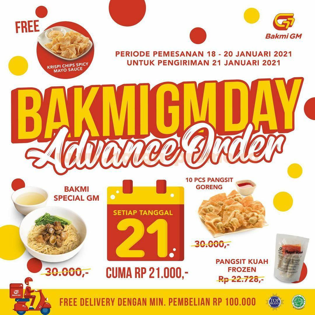 Promo Bakmi GM Day Advance Order