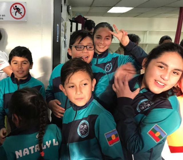 Estudiantes de San Juan de la Costa participaron en clasificatorio de natación