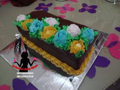 Spiku hias bunga mawar 3d buat ulang tahun  kekasih yang romantis