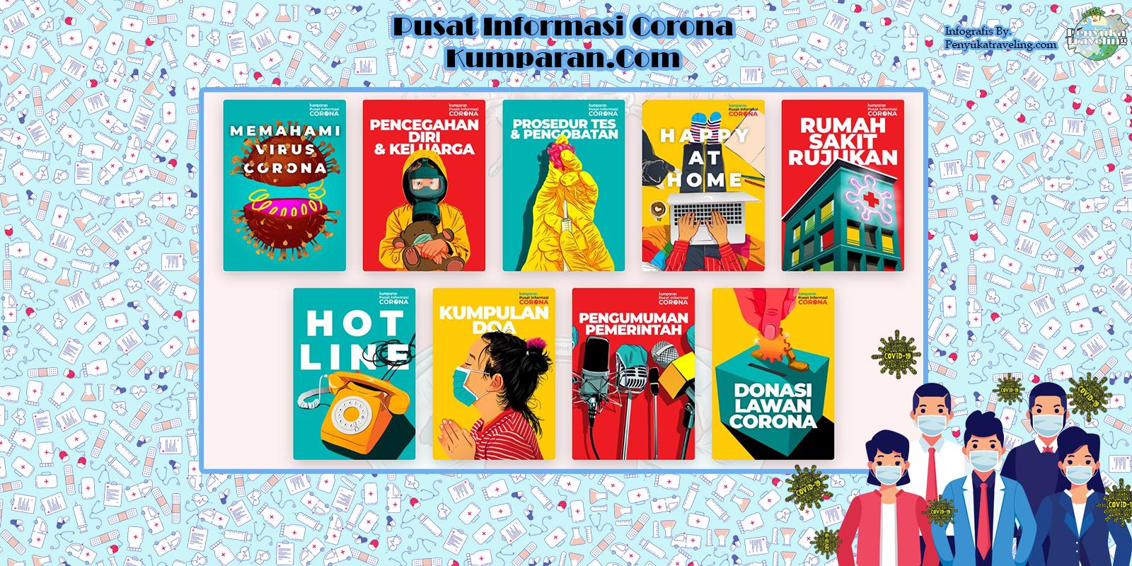 Pusat Informasi Corona Milik Kumparan
