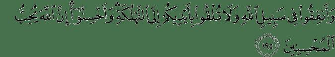 Surat Al-Baqarah Ayat 195