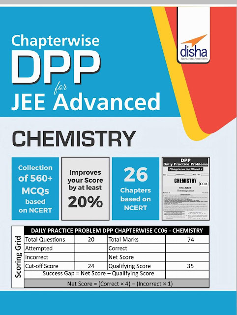 Chemistry Chapterwise DPP : JEE Advance Exam PDF Book