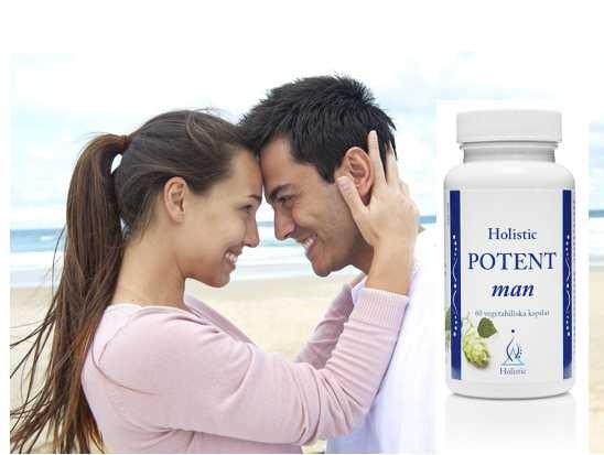 Potent Man Holistic Wsparcie potencji mężczyzn suplement diety