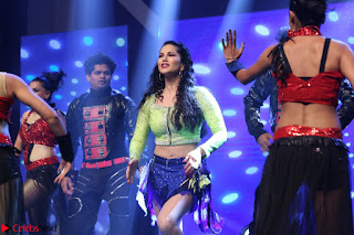 Sunny Leone Dancing on stage At Rogue Movie Audio Music Launch ~  315.JPG