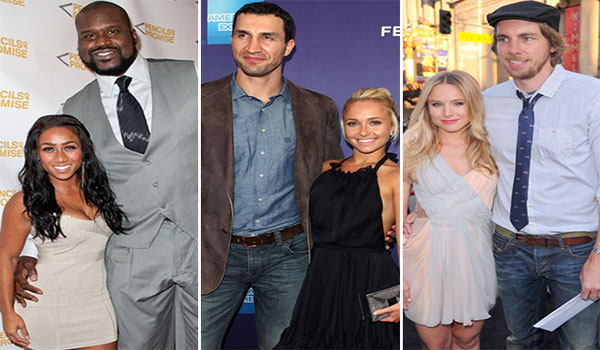 Celebrity Couples With Huge Height Differences, pasangan selebriti holywood