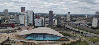 Vistas desde la Torre Arcelor Mittal Orbit.
