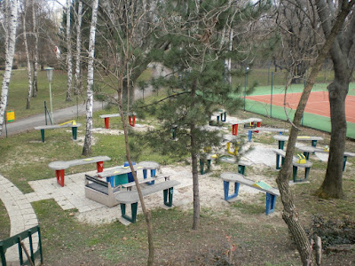 The Pit-Pat course at the Askoe Wien Wasserpark in Vienna, Austria