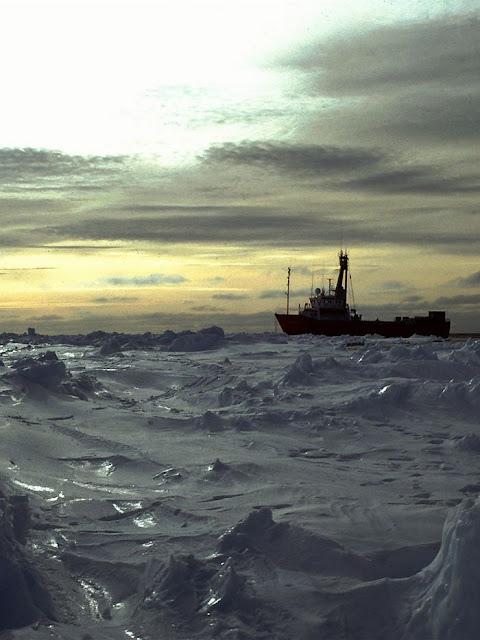 Congelamento da superfície marítima no inverno é cada vez maior