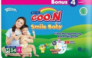 Si Kecil Lincah dan Aktif Bergerak dengan Goon Smile Baby