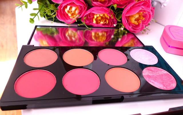 Makeup Revolution - Review Ultra Blush Palette Sugar & Spice