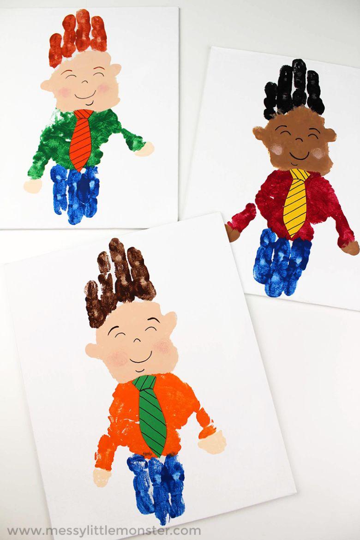Father's Day Handprint Art