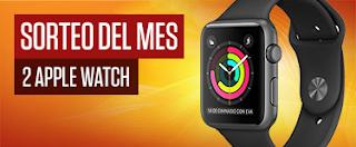Casino777 Sorteo del mes de septiembre: 2 Apple Watch