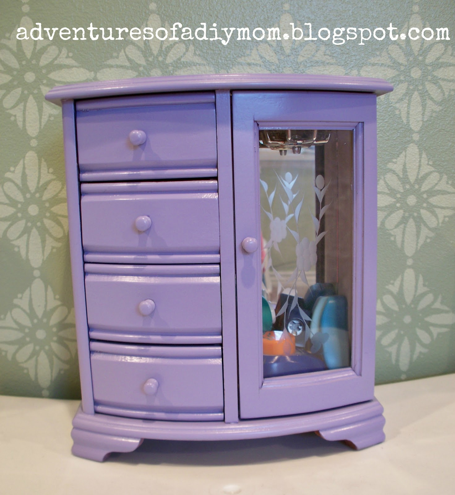 Jewelry Box Makeover Adventures of a DIY Mom
