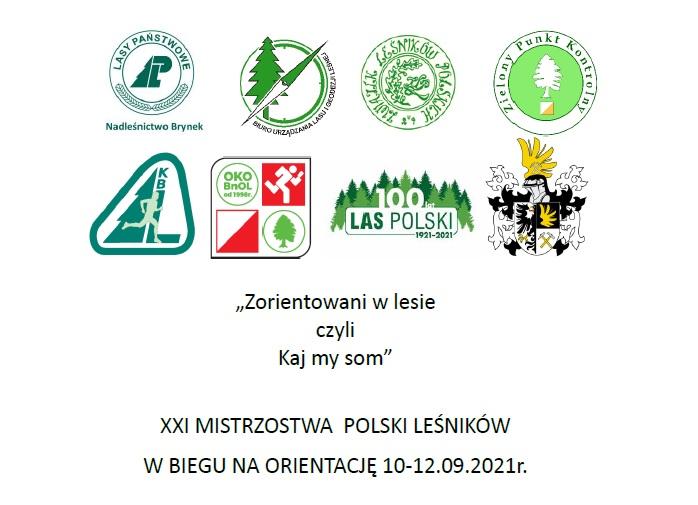 XXI Mistrzostwa Polski leśników w Biegu na Orientację