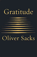 Gratitude by Oliver Sacks, book cover