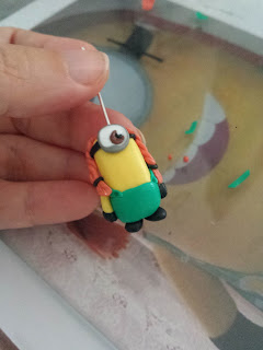 tutorial minion girl fimo