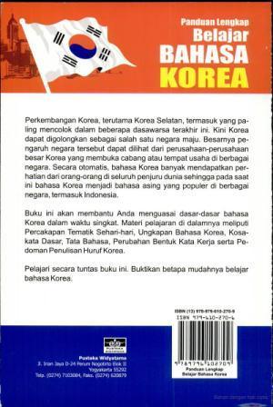 Ebook Belajar Bahasa Korea Gratis