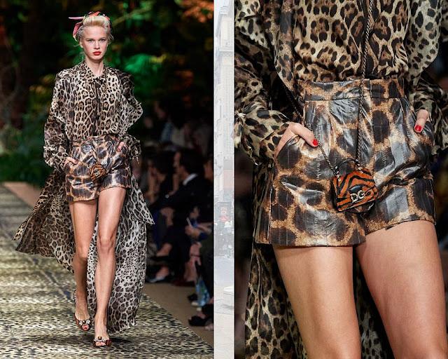 Dolce & Gabbana весна-лето 2020 Показ моды 12