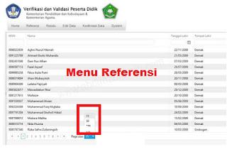 Cara Melihat Daftar NISN di Aplikasi VerVal PD Kemenag Cara Melihat Daftar NISN di Aplikasi VerVal PD Kemenag