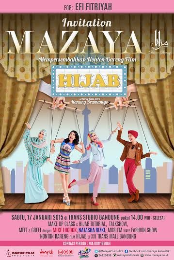 Review Film Hijab, Make Up Class & Meet and Greet