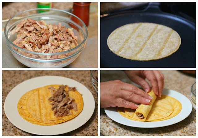 Turkey crispy tacos recipe