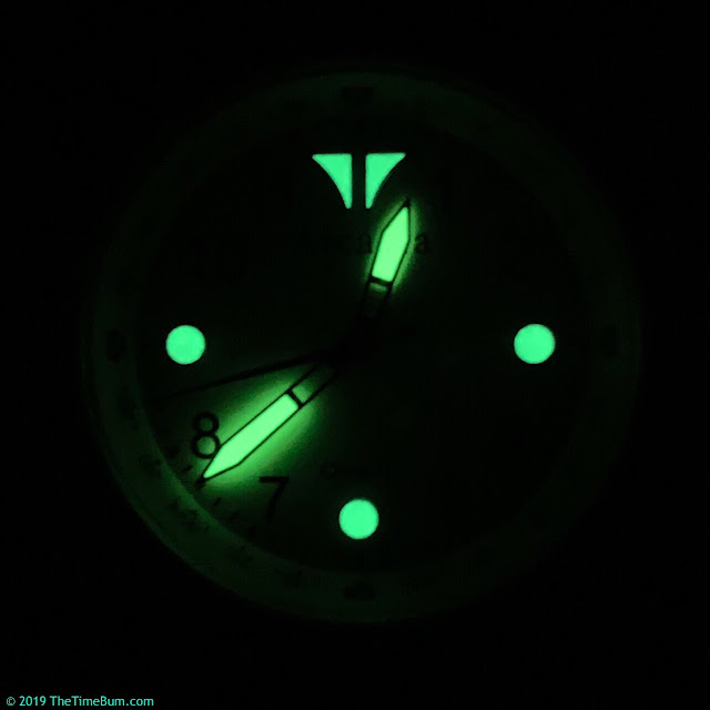 Arcadia G1.0 Graphene Field Watch  lume