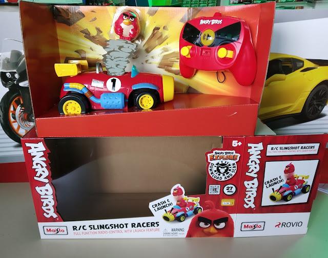 Maisto Angry Birds Slingshot Racers