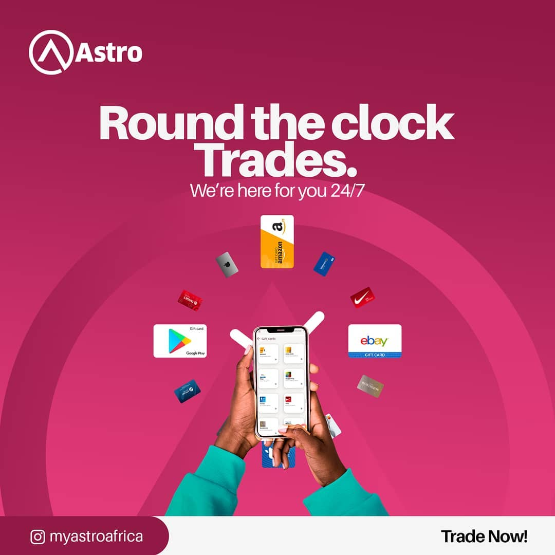 How to Sell and Exchange Gift Cards for Cedis and Naira with Astro Africa