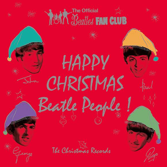 Le cadeau des Beatles avec les disques de Noël