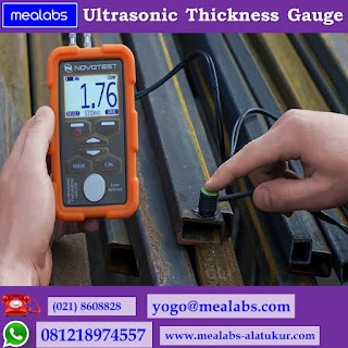 Alat Ukur Ketebalan Logam (Ultrasonic Thickness Gauge)