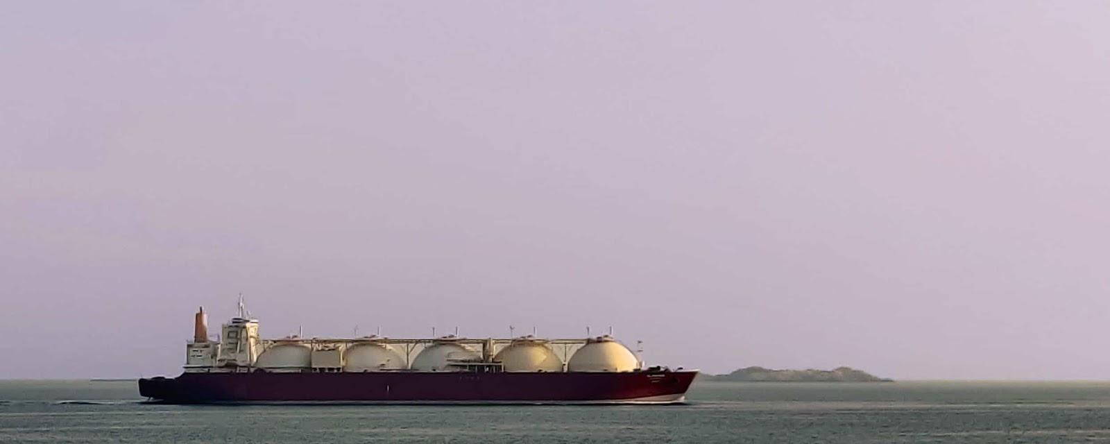 سفن الغاز الطبيعي المسال،LNG vessel
