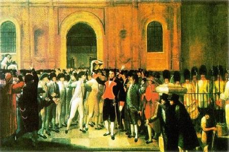 Tumulto 19 de abril de 1810 Juan Lovera