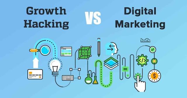 Perbedaan Growth Hacking dengan Digital Marketing