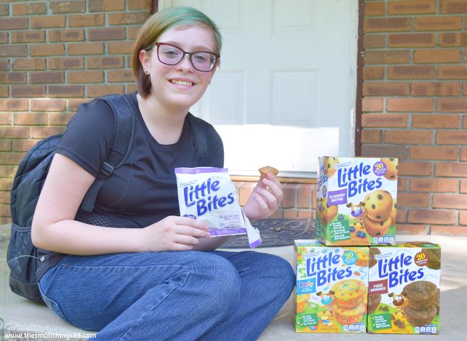 Entenmann's Little Bites® snacks are perfect for back to school! #LoveLittleBites #BackToSchool